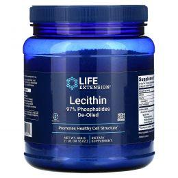 Life Extension, Лецитин, 16 унций (454 г)