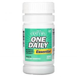 21st Century, По одной ежедневно, Essential, 100 таблеток