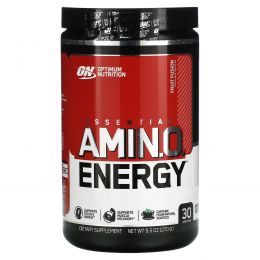 Optimum Nutrition, Essential AmiN.O. Energy, Fruit Fusion, 0.6 lbs (270 g)