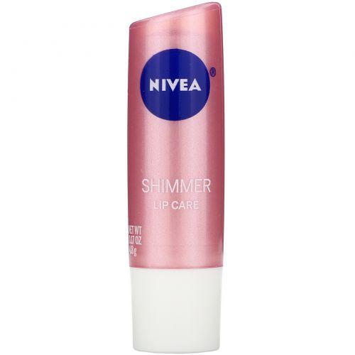 Nivea, Поцелуй влаги, блеск для губ, 4,8 г (0,17 унции)