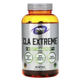Now Foods, Для спорта, CLA Экстрим, 180 мягких капсул