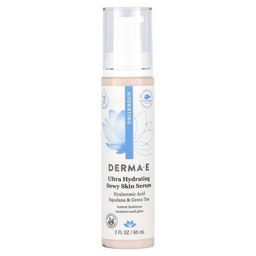 Derma E, Увлажняющая сыворотка с гиалуроновой кислотой, 60 мл (2 жидкие унции)