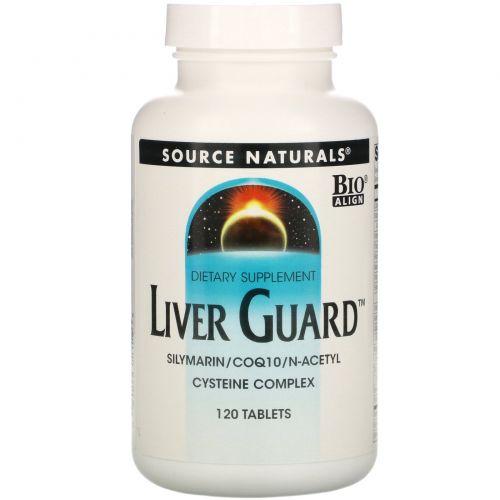 Source Naturals, Liver Guard, 120 таблеток