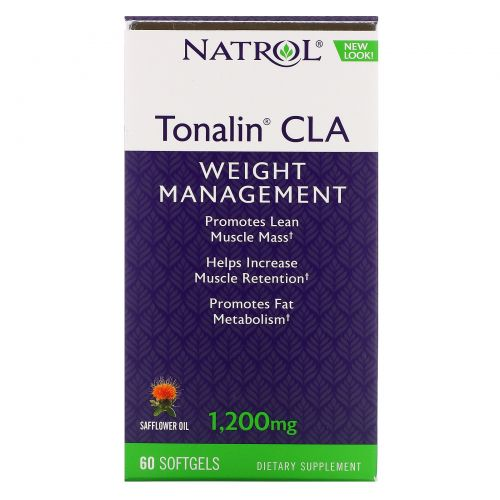Natrol, Tonalin, CLA, 1,200 mg, 60 Softgels
