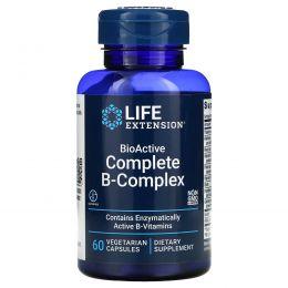 Life Extension, BioActive Complete B-Complex, 60 вегетарианских капсул