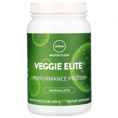 MRM, VeggieElitePerformance Protein, Matcha Latte, 2.2 lb (1,020 g)