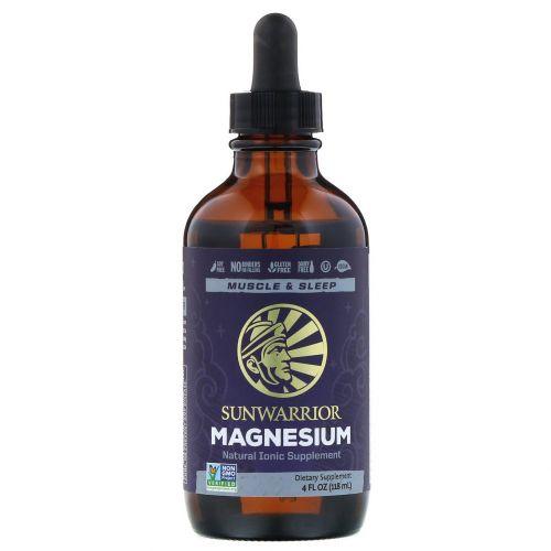 Sunwarrior, Magnesium 4 fl oz (118 ml)