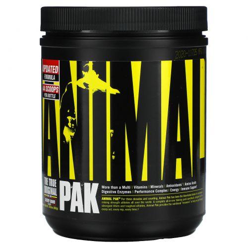 Universal Nutrition, Витаминный комплекс Original Animal Pak, спортивное питание в порошке Animal, с вишневым вкусом, 369 г