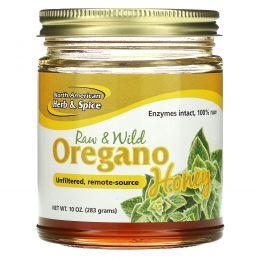 North American Herb & Spice Co., Дикий мед с орегано, 9,40 унций (266 г)