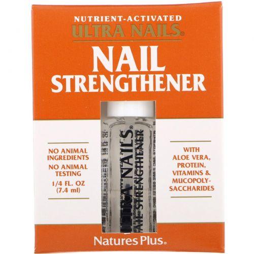 Nature's Plus, Ultra Nails, средство для укрепления ногтей, 1/4 жидкой унции (7,4 мл)