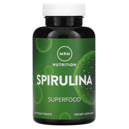 MRM, Spirulina, 180 Vegan Tablets