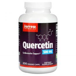 Jarrow Formulas, Кверцитин, 500 мг, 200 овощных капсул