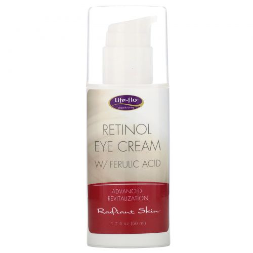 Life Flo Health, Retinol Eye Cream with Ferulic Acid, 1.7 fl oz (50 ml)