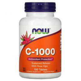 Now Foods, C-1000, 100 таблеток