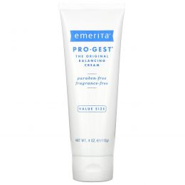 Emerita, ПроГест,  крем, регулирующий водно-солевой баланс кожи, без запаха, 4 унции (112 г)
