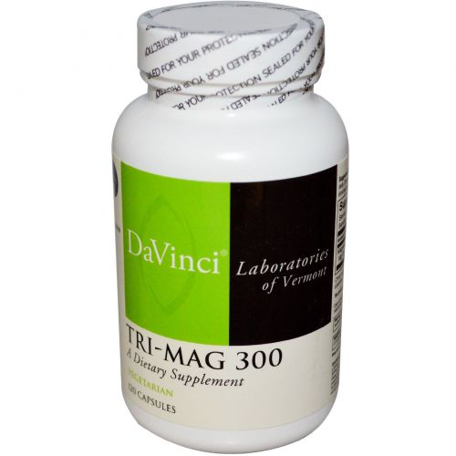 DaVinci Laboratories of Vermont, Tri-Mag 300, 120 капсул