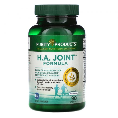Purity Products, Состав H.A. для суставов, 90 капсул