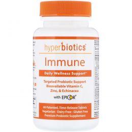 Hyperbiotics, Immune, Advanced Immune Formula, 4 Billion CFU, 60 Time-Release Tablets