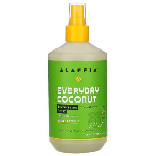 Everyday Coconut, Текстурирующий спрей, увлажняющий, для нормальных и сухих волос, кокос и морская соль, 12 ж. унц. (354 мл)