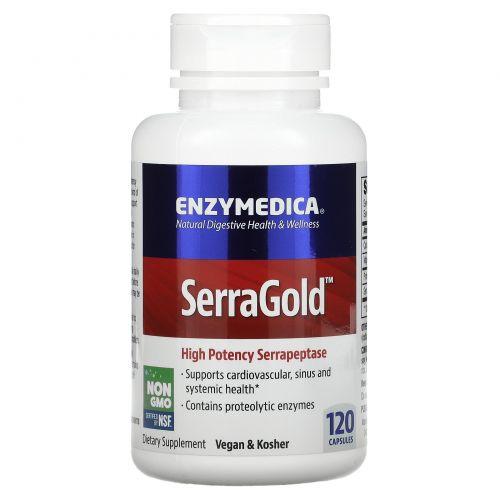 Enzymedica, SerraGold, 120 капсул