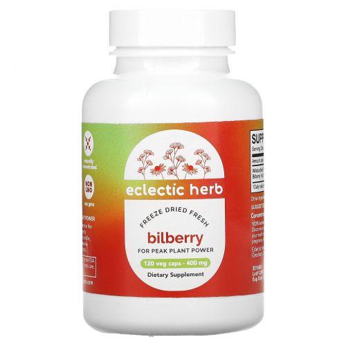 Eclectic Institute, Черника, 400 мг, 120 вегетарианских капсул