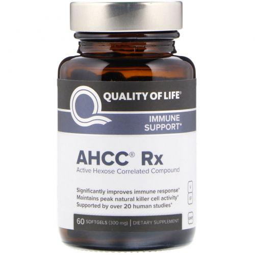 Quality of Life Labs, Быстроусваиваемый активный гемицеллюлозный компонент, 300 мг, 60 желатиновых капсул