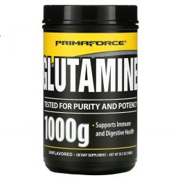 Primaforce, Glutaform, 100% L-глутамин, Без вкусовых добавок, 1000 г