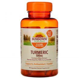 Sundown Naturals, Куркума, 450 мг, 90 капсул