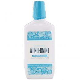Schmidt's Naturals, Plant-Powered Mouthwash, Wondermint, 16 fl oz (473 ml)