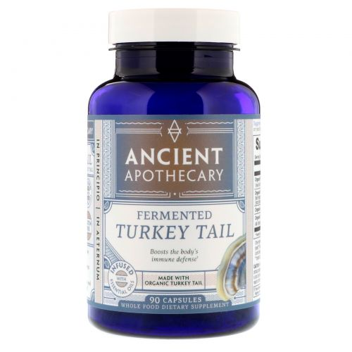 Ancient Apothecary, Fermented Turkey Tail, 90 Capsules
