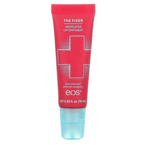 EOS, The Fixer, Medicated Analgesic Lip Ointment, 0.35 fl oz (10 ml)