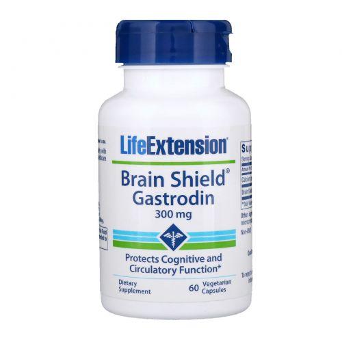Life Extension, Brain Shield, 60 растительных капсул