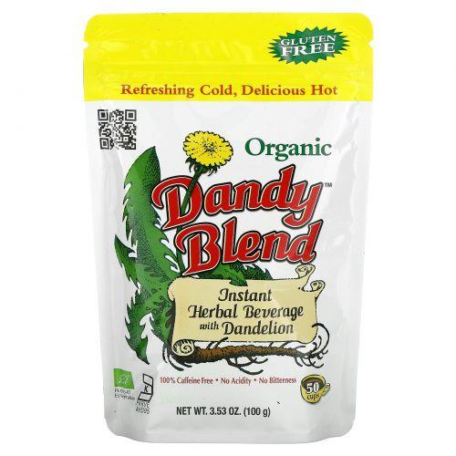 Dandy Blend, Органический травяной напиток с одуванчиком, без кофеина, 3.53 унции(100 г)