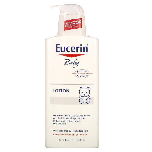Eucerin, Детский лосьон без запаха, 400 мл