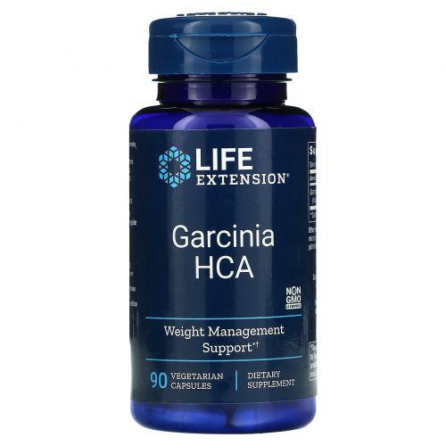 Life Extension, Гарциния ГЛК, 90 вегетарианских капсул