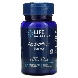 Life Extension, AppleWise, 600 mg , 30 Vegetarian Capsules
