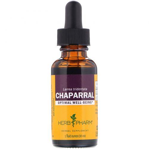 Herb Pharm, Ларрея трехзубчатая, 1 жидкая унция (30 мл)
