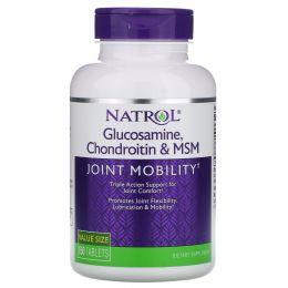 Natrol, Глюкозамин, хондроитин и метилсульфонилметан (MSM), 150 таблеток
