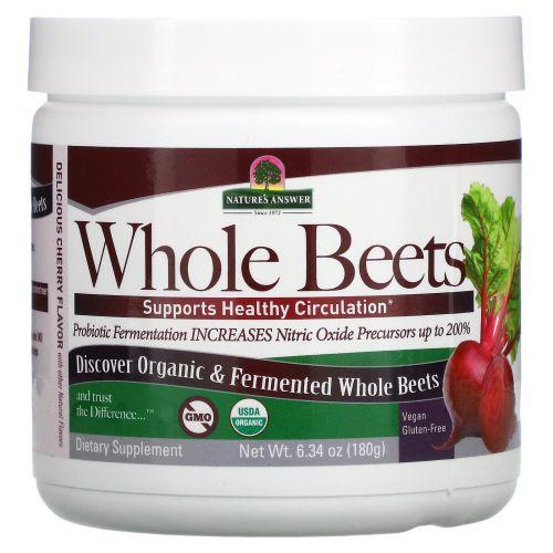 Nature's Answer, Whole Beets Powder, 6.34 oz (180 g)
