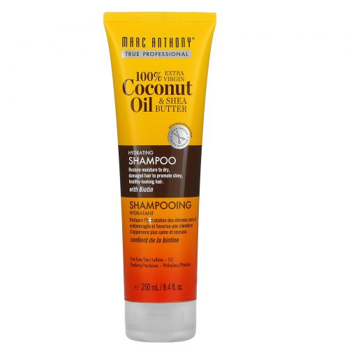 Marc Anthony, 100% Extra Virgin Coconut Oil & Shea Butter, Shampoo, 8.4 fl oz (250 ml)