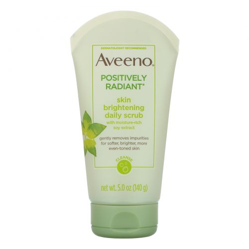 Aveeno, Active Naturals, Positively Radiant, Skin Brightening Daily Scrub, 5oz