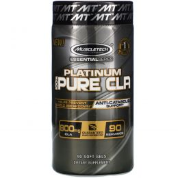 Muscletech, Platinum, Pure CLA , 90 Soft Gel Caps