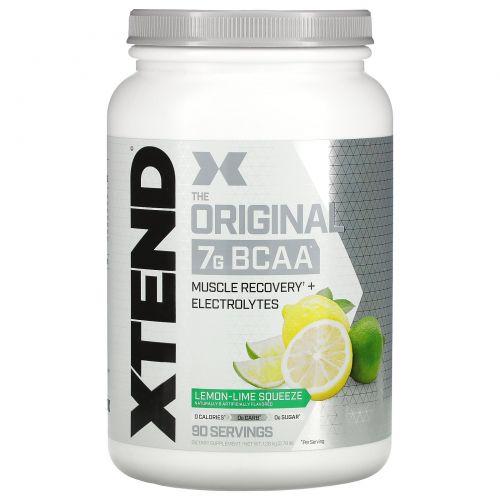 Scivation, Xtend, аминокислоты с разветвленными боковыми цепями, со вкусом лимона и лайма, 45,5 унции (1291 г)