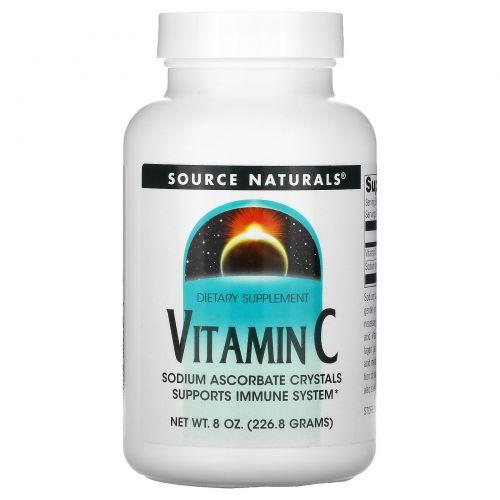 Source Naturals, Витамин C, 8 унций (226.8 г)