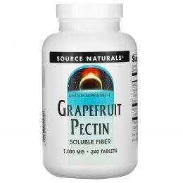 Source Naturals, Пектин грейпфрута, 240 таблеток