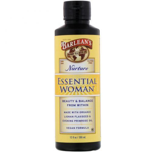 Barlean's, «Незаменимо для женщины», питание, 12 жидких унций (350 мл)