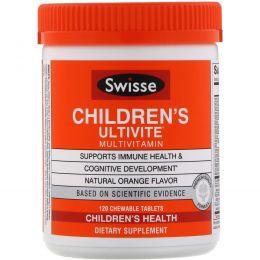 Swisse, Children's Ultivite Multivitamin, 120 Chewable Tablets
