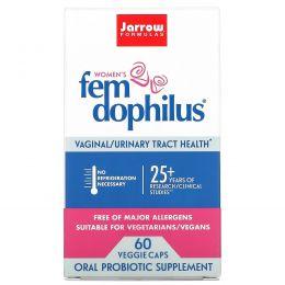 Jarrow Formulas, Fem Dophilus для женщин, 60 растительных капсул