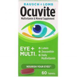 Bausch & Lomb Ocuvite, Глаза + мультивитамин, 60 таблеток