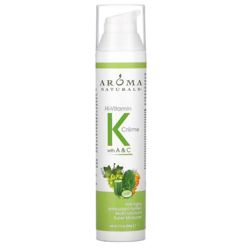 Aroma Naturals, Удивительный крем с витаминами K, A & C 3.3 унции (94 г)